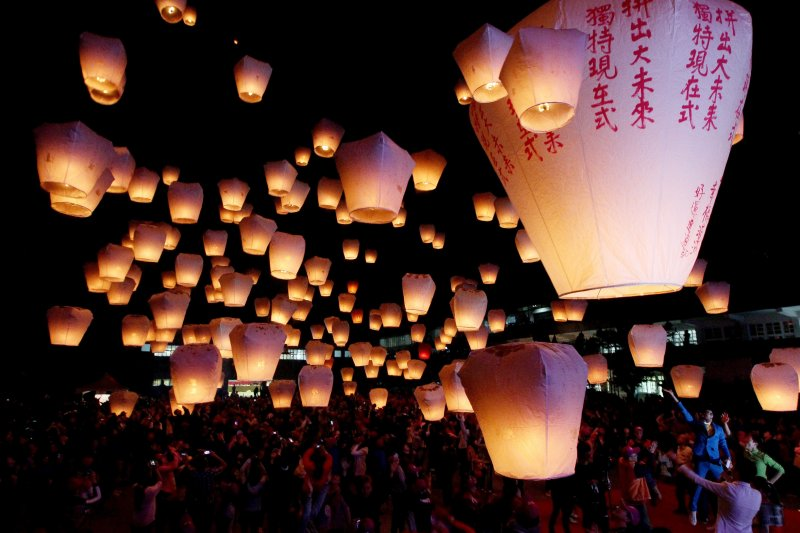 九天年假,安排一場平溪天燈節活動正是時候。圖 / 新北市政府觀光旅遊局提供