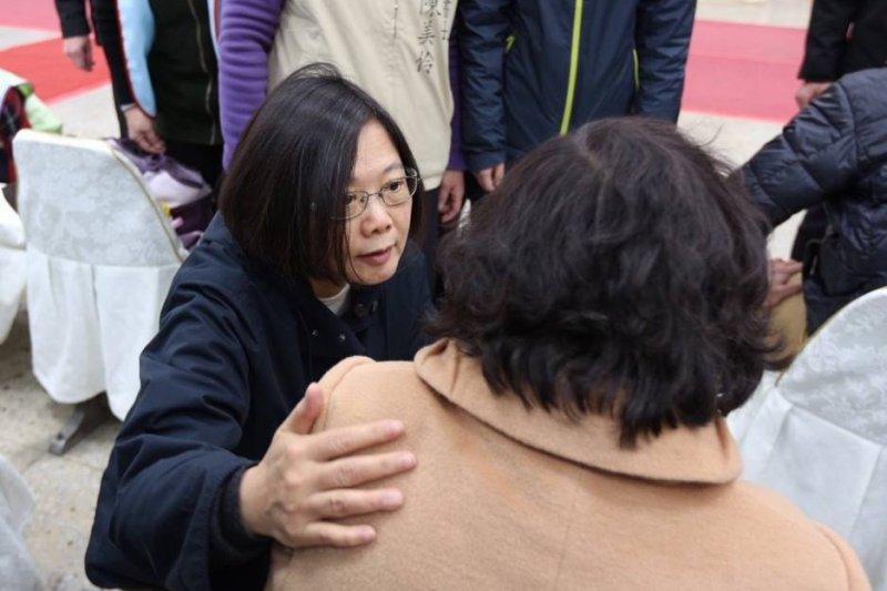 民進黨總統當選人蔡英文。(取自蔡英文臉書)