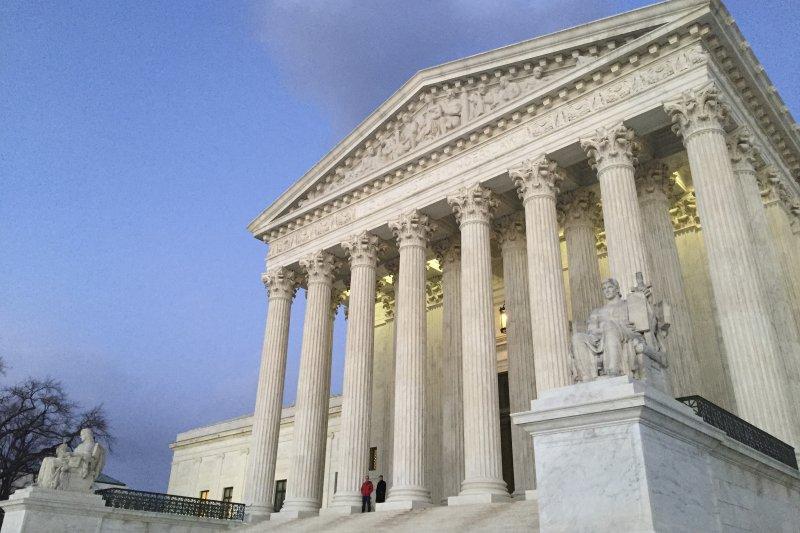 美國聯邦最高法院。(美聯社)