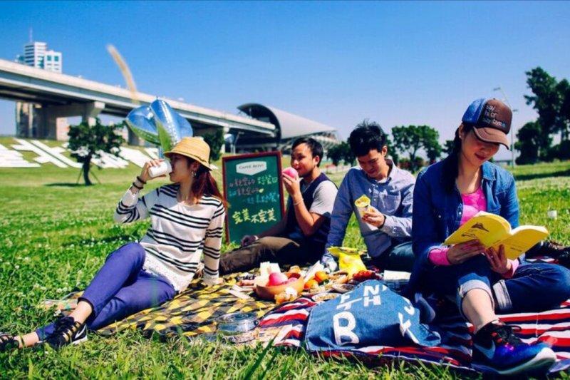 2016全臺首場大型野餐活動。(圖/新北市政府觀光旅遊局提供)