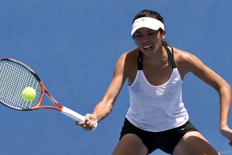 里約奧運開打前,台灣女子網球選手謝淑薇以退出台灣網壇作結。(美聯社)