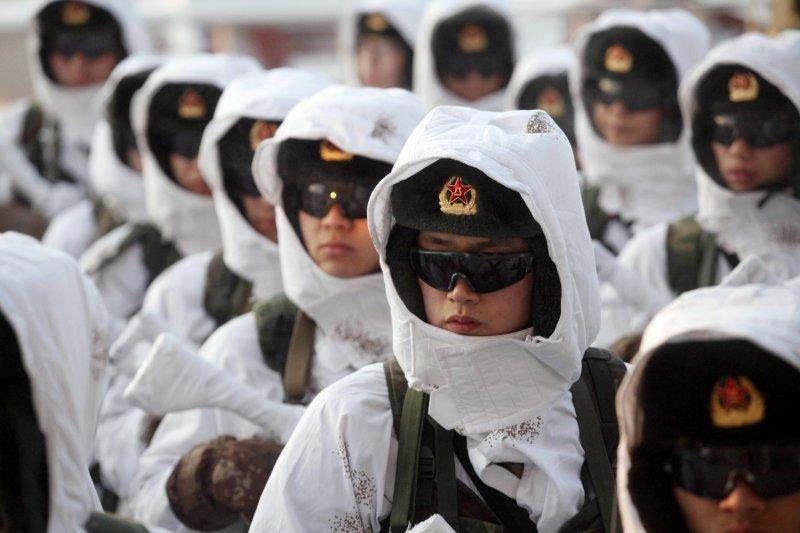 圖為中國人民解放軍(美聯社)