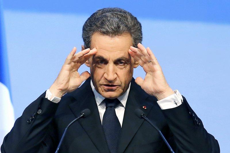 法國前總統薩科齊(Nicolas Sarkozy)(美聯社)