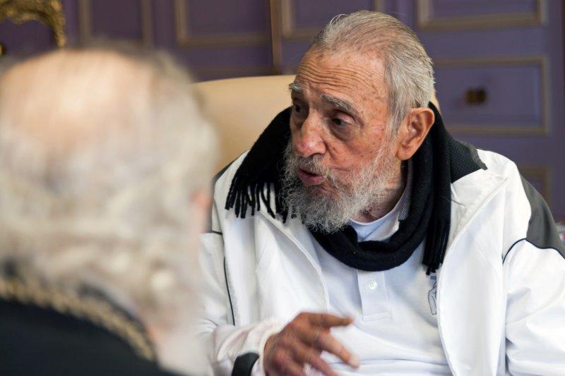 古巴革命之父菲德爾.卡斯楚(Fidel Castro)。(美聯社)