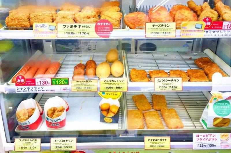 日本在便利超商就可以享用到CP值超高的炸物!(圖/MATCHA)