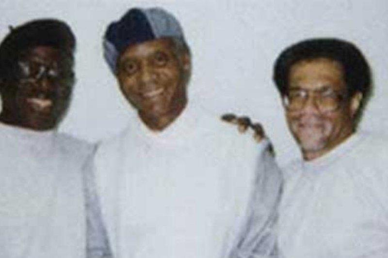 安哥拉三人,左起依序為華萊士、金恩以及伍德福克斯(圖片來源:Angola 3 News)