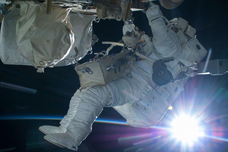 國際太空站的太空人(NASA)