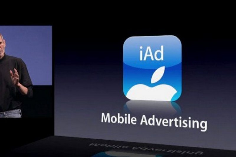 六年前,蘋果公司執行長賈伯斯發佈 iOS 4.0 ,同時宣佈蘋果的行動廣告平台 iAd。(取自 arabmillionaires.net)