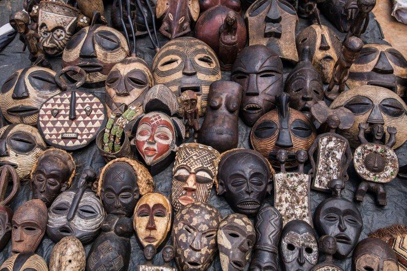 族群文化豐富的非洲大陸,擁有得天獨厚的藝術資產。(圖/Ninara@Flickr)
