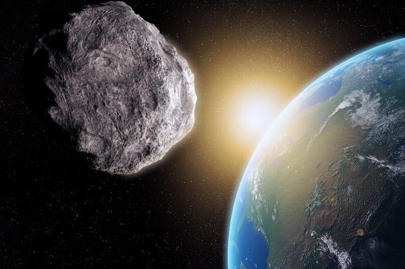 近地小行星示意圖。(取自網路)