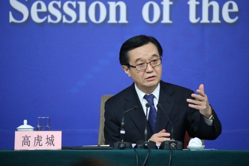 中國商務部部長高虎城。(翻攝網路)
