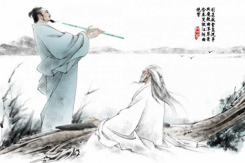 《笑傲江湖》是金庸作品中少數沒有豐富歷史背景的其中一部,金庸為此說明,他想寫的是普遍性格與生活常態,類似的場景可以發生在任何朝代。(取自網路)