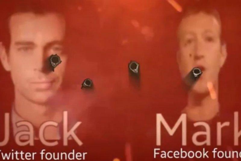 伊斯蘭國發布新影片,威脅臉書及推特創辦人(擷取自影片)