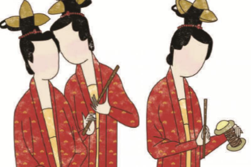 宋代女裝普遍開放性感,但她們冬天怎麼辦?(圖/陳巧廷)