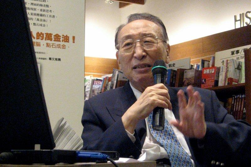 無任所大使陸以正過世,享壽92歲。外交部表示,陸以正是外交典範。(取自淡江大學)