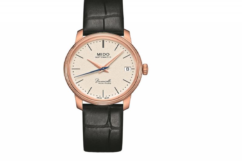 Baroncelli Heritage永恆系列,強調對經典製錶傳統與優雅風貌的堅持。(圖/MIDO提供)