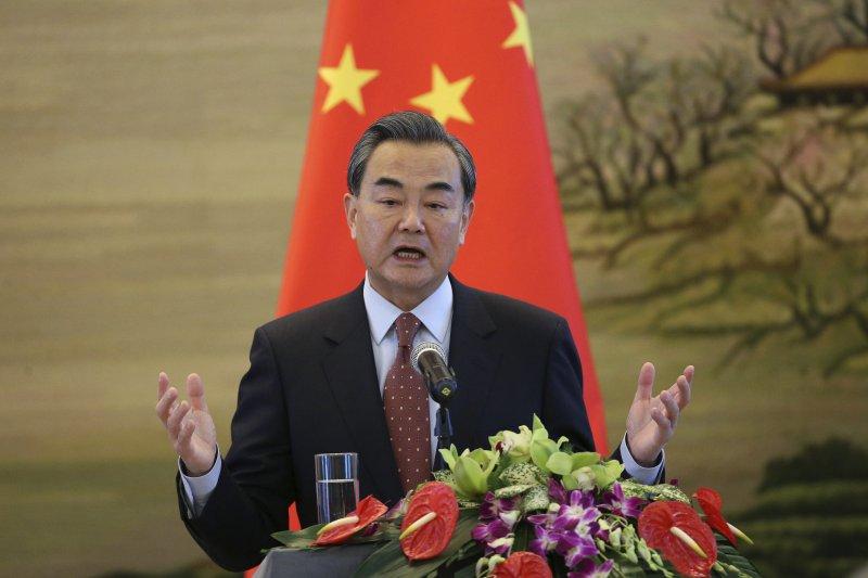 中國外交部長王毅。(AP)