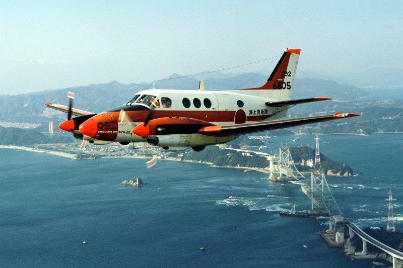TC-90教練機。(日本海上自衛隊官網)