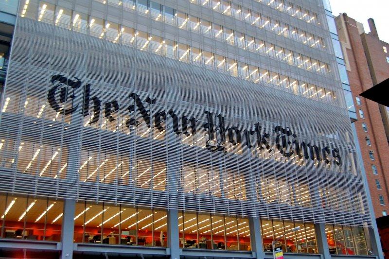 《紐約時報》是美國報社新聞網站收費的代表(維基百科)