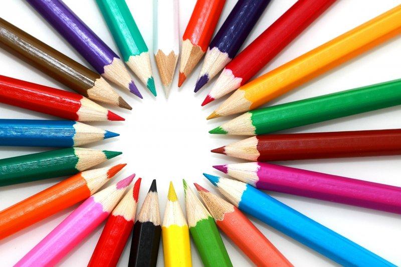一起來學顏色相關的俚語(圖/PublicDomainPictures@pixabay)