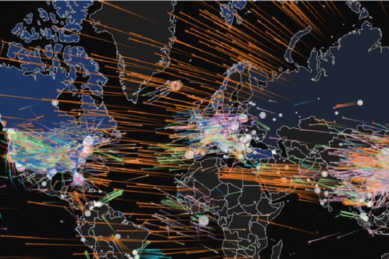 在區塊鏈上建立的虛擬貨幣主權能否作為金融超限戰的武器?(作者提供)