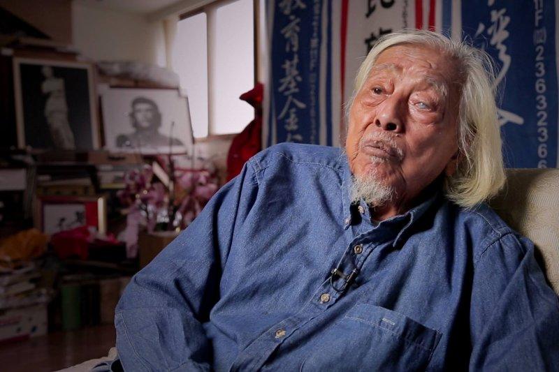 他從20歲堅持到100歲的心願只有一個,就是台灣獨立建國(圖/取自史明紀錄片「革命進行式」@facebook)