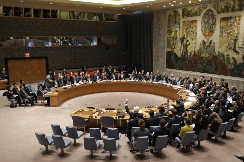 聯合國安理會一致通過譴責北韓案。(美聯社)