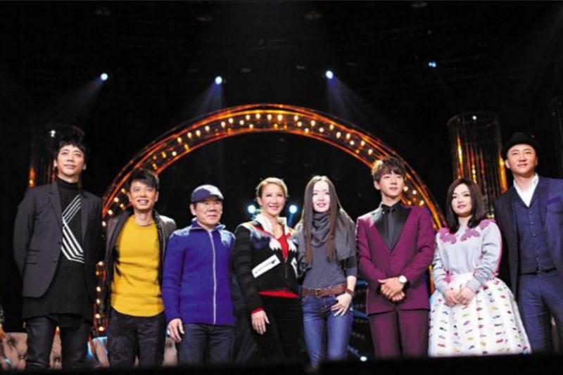 《我是歌手》第四季,八位首發歌手中就有四位來自台灣。(人民網)