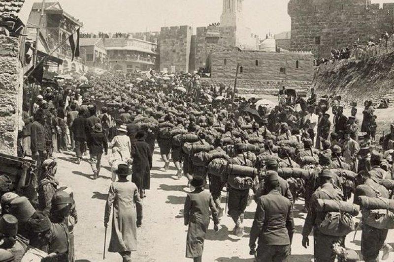 第一次世界大戰時期的奧匈帝國軍隊。(取自維基百科)