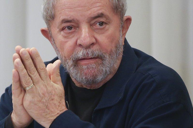 巴西前總統魯拉於2015年(美聯社)