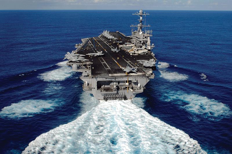 美軍航空母艦史丹尼斯號(USS John C. Stennis)(史丹尼斯號官網)