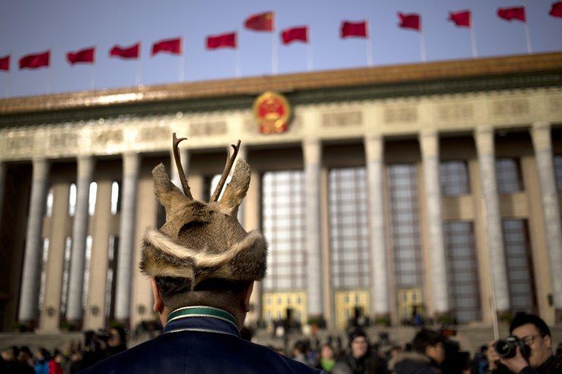 中國十二屆全國人大四次會議(美聯社)
