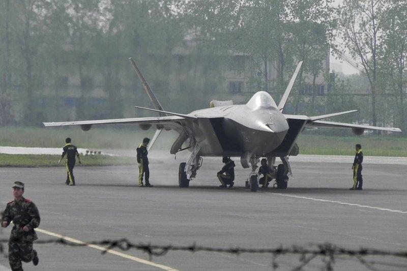 中國人民解放軍,殲-20(J-20)戰鬥機(美聯社)