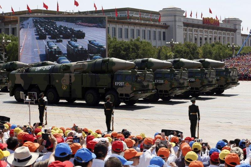 中國人民解放軍,東風-21(DF-21D)反艦彈道飛彈(美聯社)
