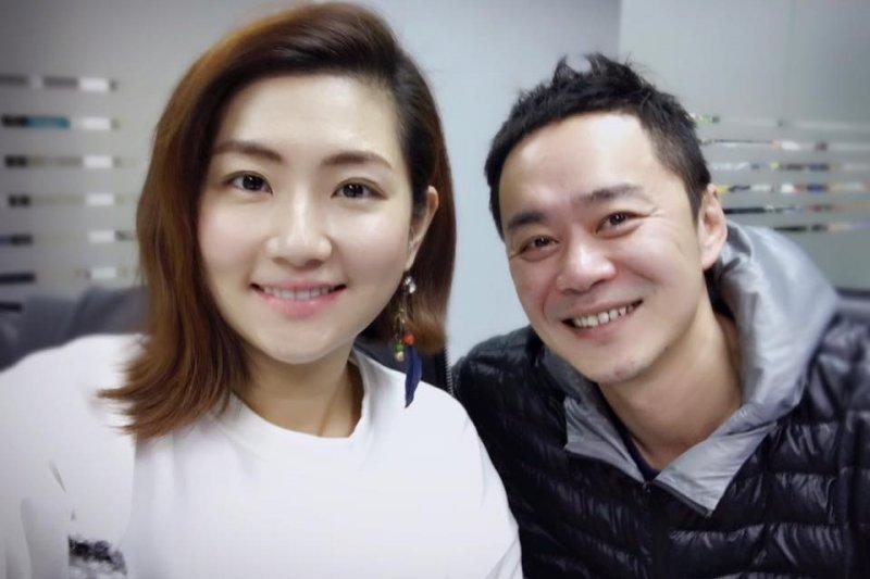Selina(左)與阿中在臉書宣告離婚,好姊妹Hebe、Ella都發聲明表示:「支持老婆決定」。(取自Selina臉書)