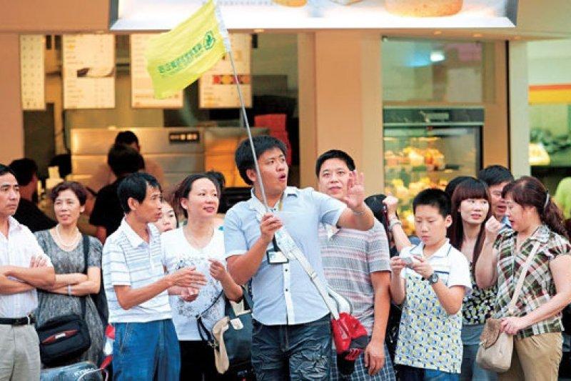 中國旅客來台總量下降,陸委會對此表示:「還沒有看到回升」。(資料照,張家毓攝)