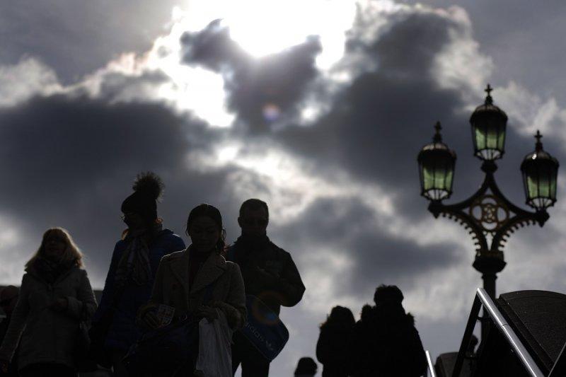 世界金融中心將從泰晤士河畔撤走嗎?(美聯社)