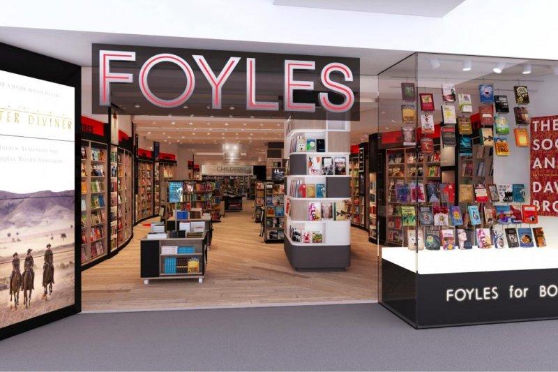 英國Foyles書店(取自網路)
