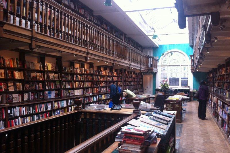 英國Daunt Books書店(取自網路)