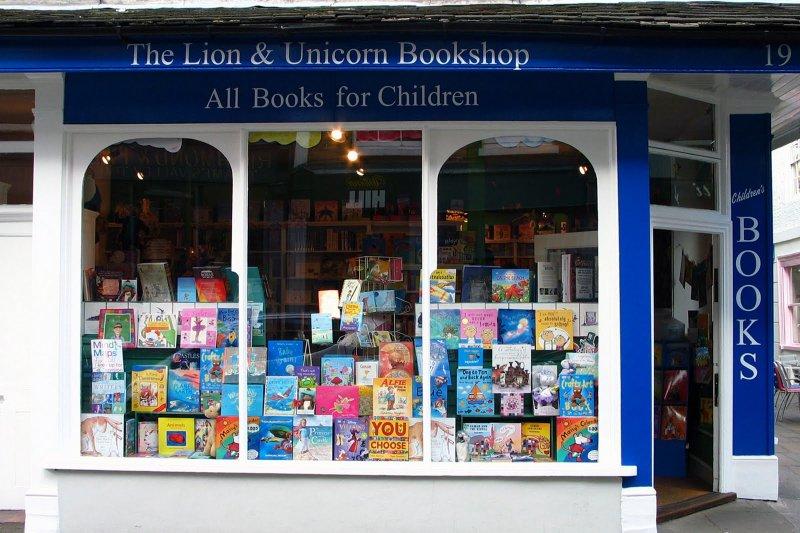 英國Lion & Unicorn書店(取自網路)