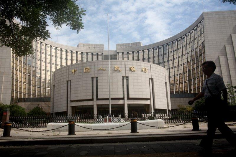 「利率雙軌制」、「價與量選擇」與「非銀行間的金融機構流動性」為近年中國貨幣政策執行面最常被提出來討論的3大話題。圖為中國人民銀行(資料照,新華社)