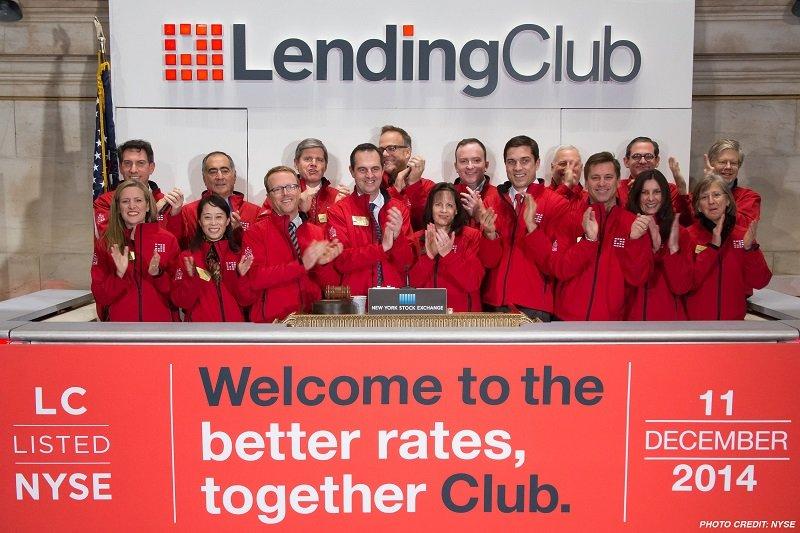 2014年12月在紐約證交所掛牌上市的Lending Club,上市當天市值達到八十五億美元。(來源:Lending Club.com)