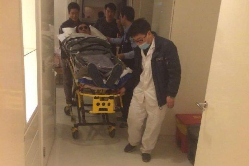 「反台獨」藝人黃安在中國罹患心臟病,回台灣就醫(黃安微博)