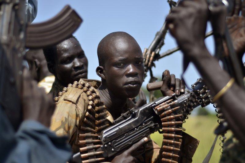 非洲的南蘇丹戰亂連年,慘劇不斷。(美聯社)