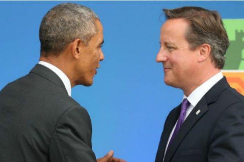 美國白宮在歐巴馬批評卡麥隆之後發表聲明稱後者一直都是美國非常親近的夥伴。(BBC中文網)