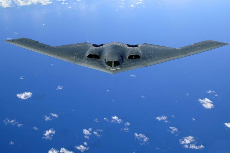 美軍B-2幽靈式(B-2 Spirit)匿蹤戰略轟炸機(維基百科)