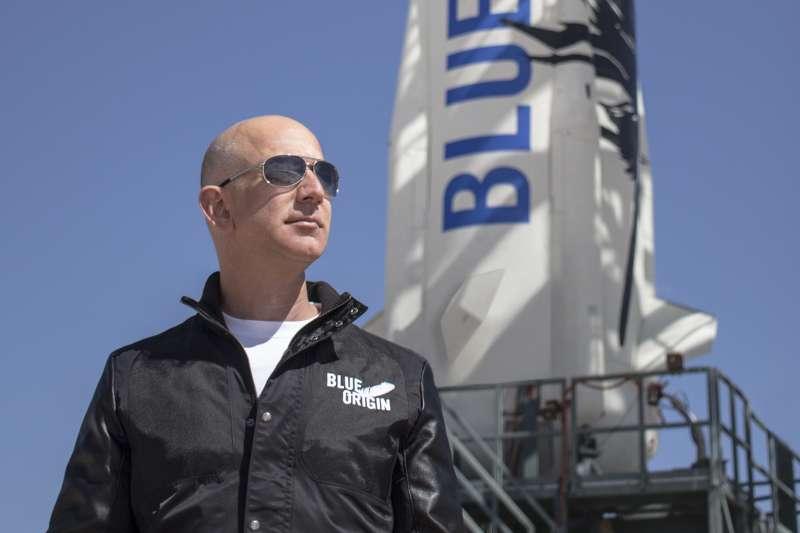 Amazon創辦人兼CEO貝佐斯。