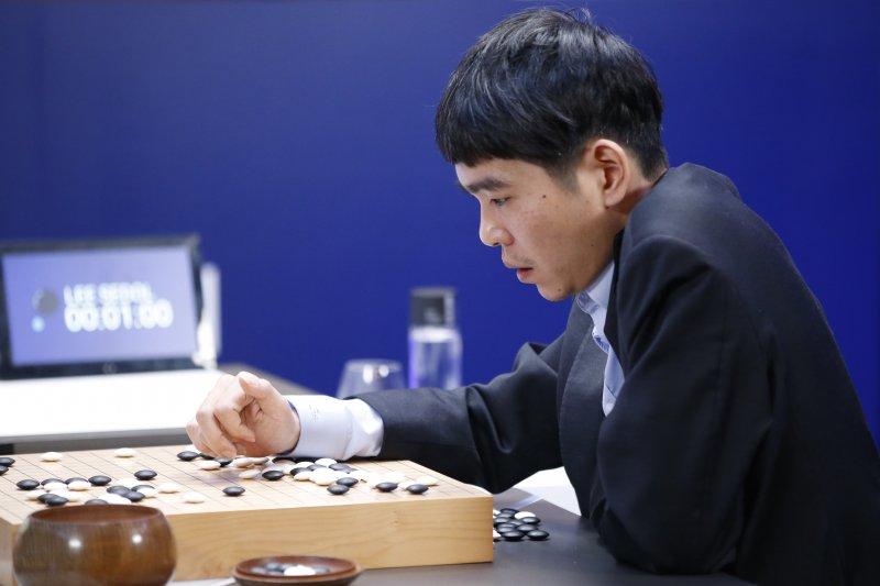 南韓圍棋天才李世乭九段(美聯社)