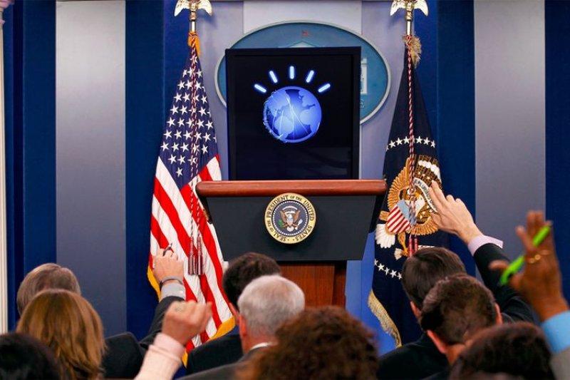 (圖片取自 Watson for President 2016)