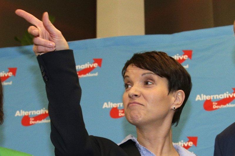 「德國另類選擇黨」領袖佩特里(Frauke Petry)(美聯社)